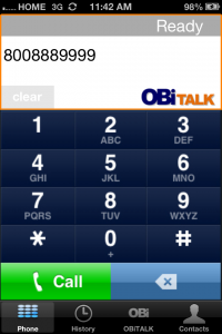 OBI Talk Free International Call