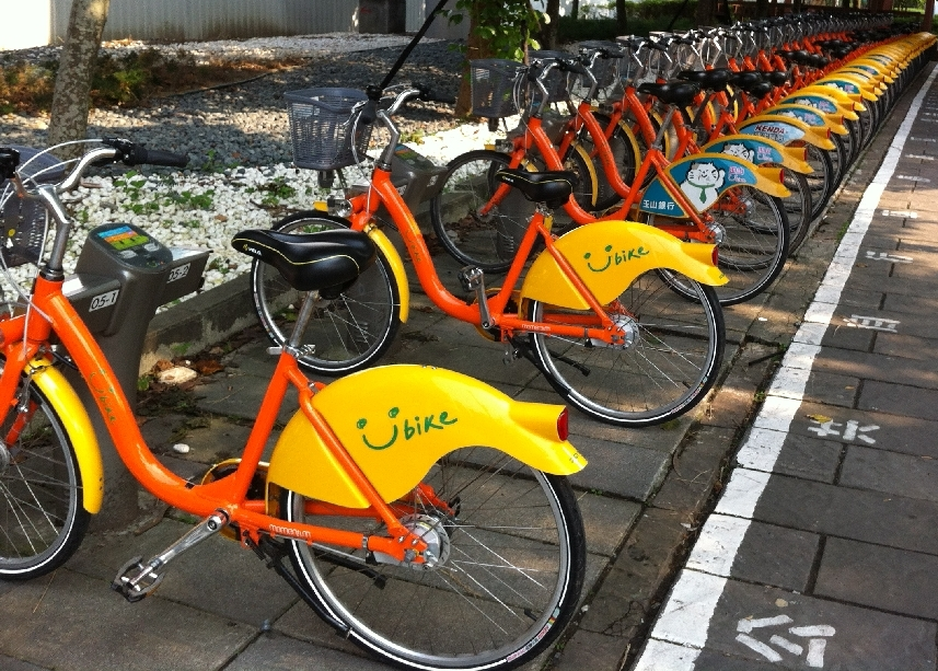Free YouBike Ride in Taipei